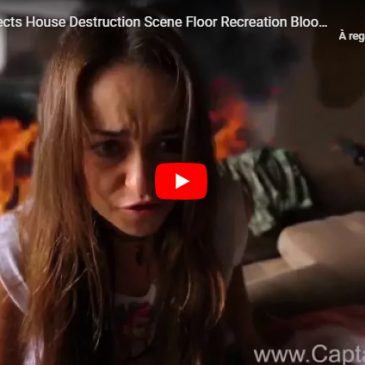 Adobe After Effects House Destruction Scene Floor Recreation