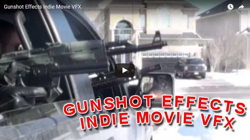Gunshot Effects Indie Movie VFX – Captain Design